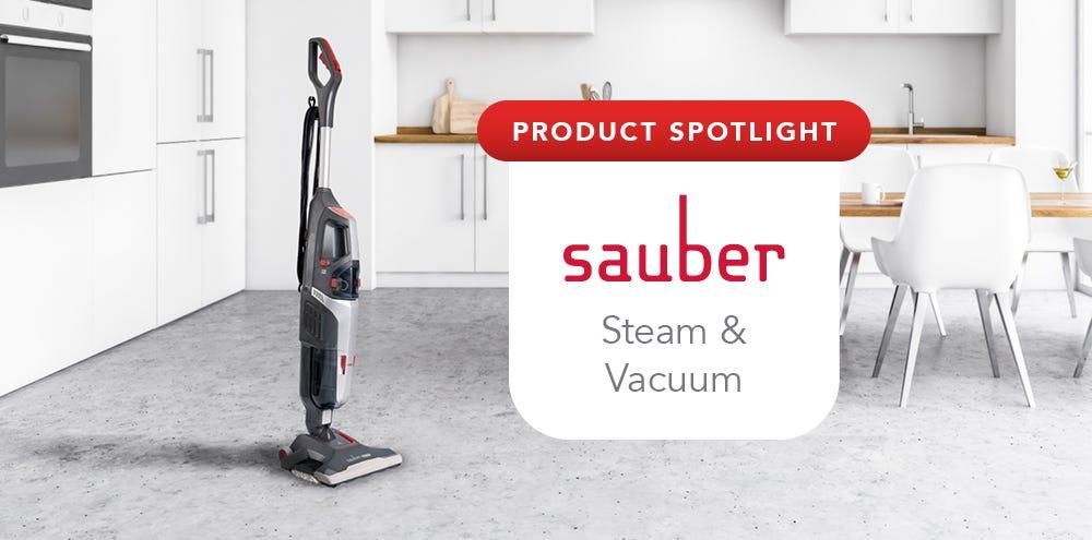 Product Spotlight: Sauber Steam & Vacuum SV-100 Multi-Surface Cleaner