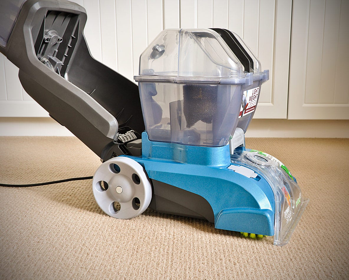 ... Hoover Gladiator PowerScrub Deluxe Carpet Shampooer ...
