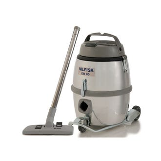 Nilfisk GM80 Stainless Steel Commercial Vacuum  - Godfreys