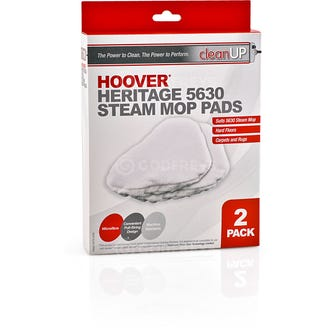 Clean Up Hoover 5630 Steam Mop Pads 2pk