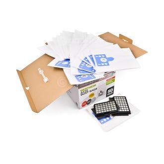 Clean Up Wertheim 4430 Vacuum Bags 50pk + Filters