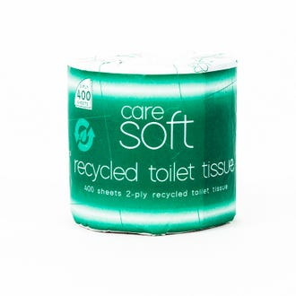 CareSoft Recycled Toilet Tissue 48 Rolls