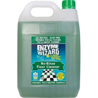 Enzyme Wizard No Rinse Floor Cleaner - 5L  - Godfreys