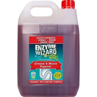 Enzyme Wizard Grease & Waste Digester - 5L  - Godfreys