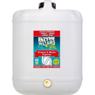 Enzyme Wizard Grease & Waste Digester - 20L  - Godfreys