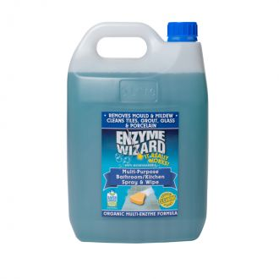 Enzyme Wizard Multi-Purpose Bathroom & Kitchen Cleaner - 5L  - Godfreys