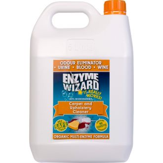 Enzyme Wizard Carpet & Upholstery Cleaner - 5L  - Godfreys