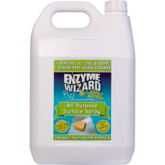 Enzyme Wizard All-Purpose Surface Spray - 5L  - Godfreys