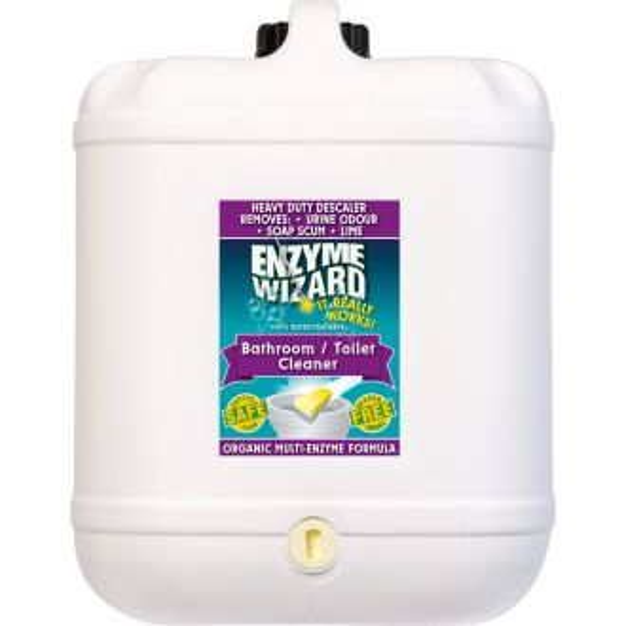 Enzyme Wizard Bathroom & Toilet Cleaner - 20L  - Godfreys