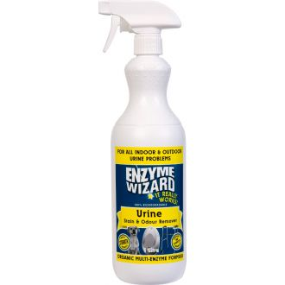 Enzyme Wizard Urine Stain & Odour Remover - 1L Spray  - Godfreys