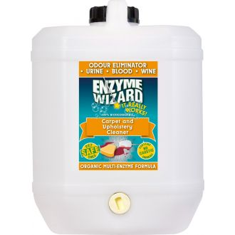 Enzyme Wizard Carpet & Upholstery Cleaner - 10L  - Godfreys