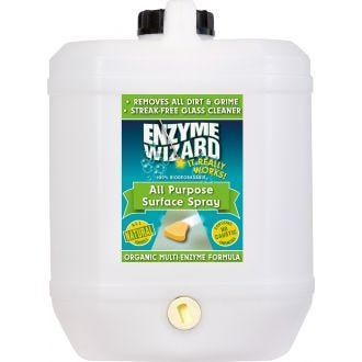 Enzyme Wizard All-Purpose Surface Spray - 10L  - Godfreys