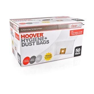 Hoover Hygiene Vacuum Bags 50pk + Filters