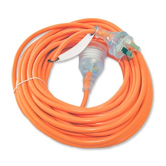 15m Orange Extension Cord  - Godfreys