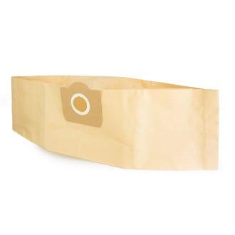 Work Hero 20L Wet & Dry Vacuum Bags 5pk  - Godfreys