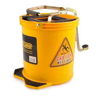 Pullman Mop Bucket (16L)  Yellow  - Godfreys