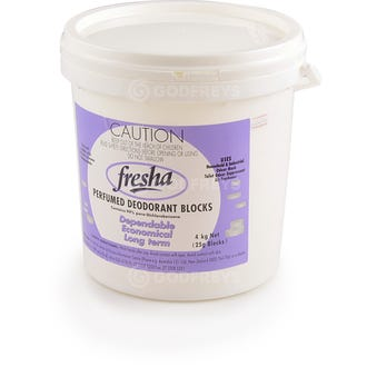 Fresha Urinal Chemical Blocks 4kg  - Godfreys