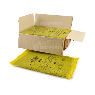 Disposable Bin Liners 120L Heavy Duty Black 250ctn  - Godfreys