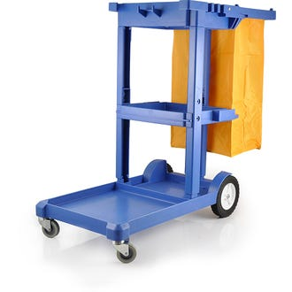 Pullman Multifunction Cleaning Trolley Cart  - Godfreys