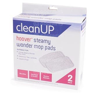 Hoover Steamy Wonder Steam Mop Pads 2PK  - Godfreys