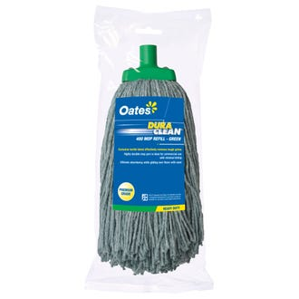 Oates 400gm DuraClean Mop Head Green  - Godfreys