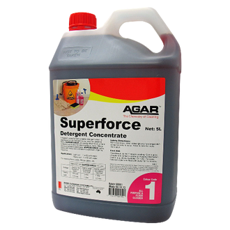 Agar Superforce 5L Detergent Concentrate  - Godfreys