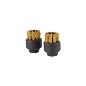 Tool Small Brass Brush pk2 SC8000  - Godfreys