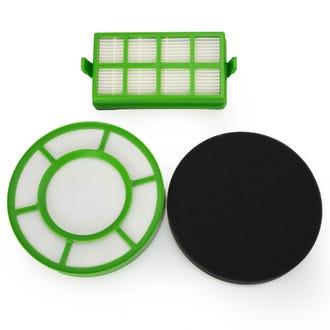 Hoover Filter Set Eco Pets 3013 Exhaust + Dust Bin  - Godfreys