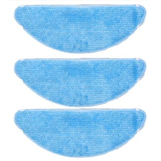 Ecovacs DEEBOT U2 Robot Washable Cleaning Cloth - 3 Pack  - Godfreys