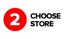 Click & Collect Step 2 - Choose store