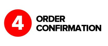 Click & Collect Step 4 - Order confirmation