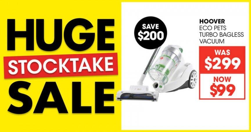 Huge Stocktake Sale 2019