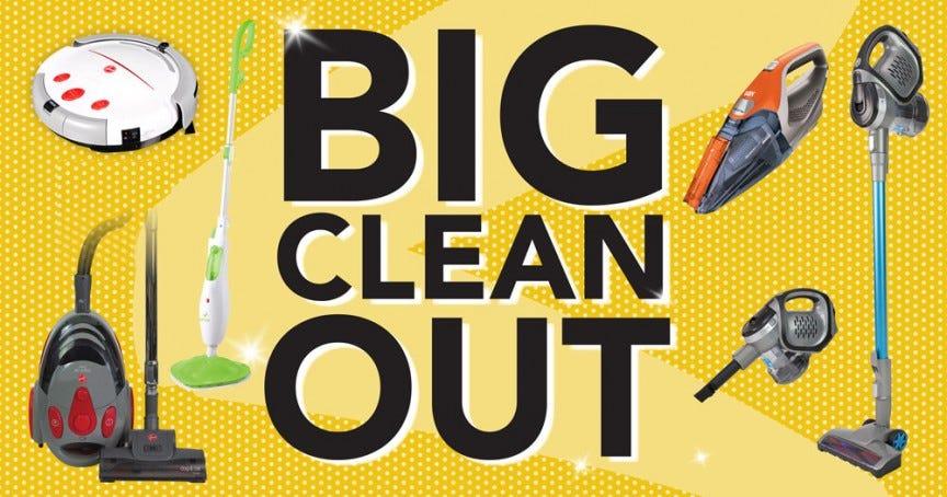 Optim Steam Mop Big Clean Out 2019