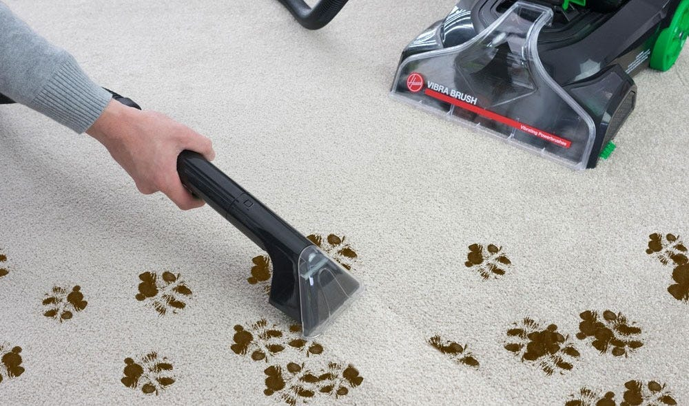 Hoover Vibra Brush Carpet Shampooer