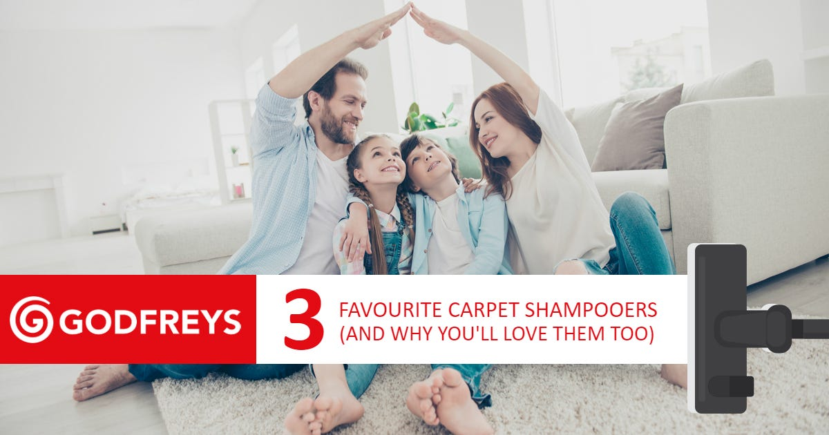 Favourite carpet shampooers