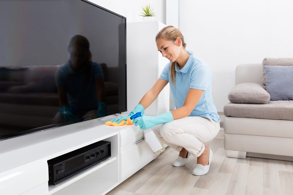 House cleaning methods