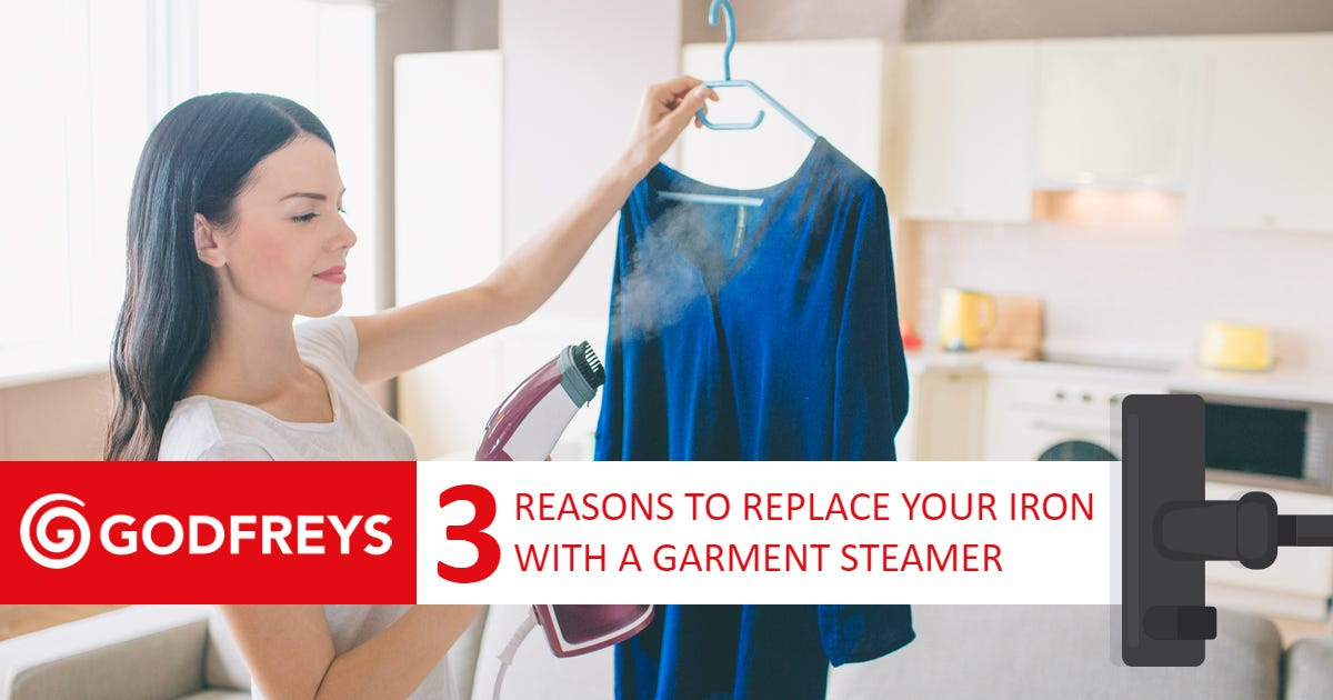Replace iron with garment steamer